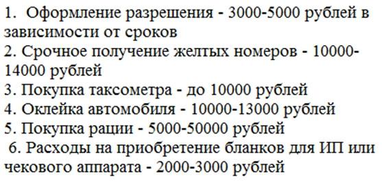 Лицензия такси без оклейки Москва и Московская область